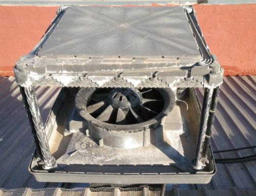 Mantenimeinto de Bioclimatizadores en Lavandería industrial