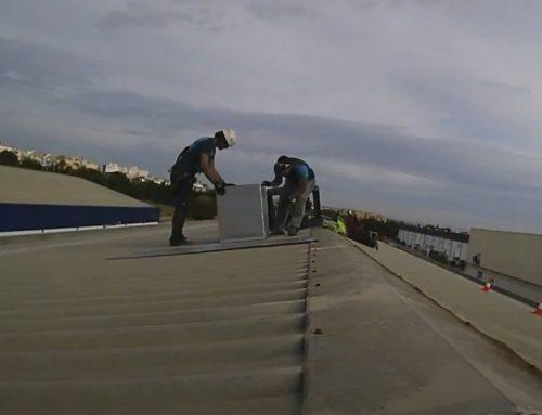Instal·lació de Bioclimatización Industrial en Pisassent, València.